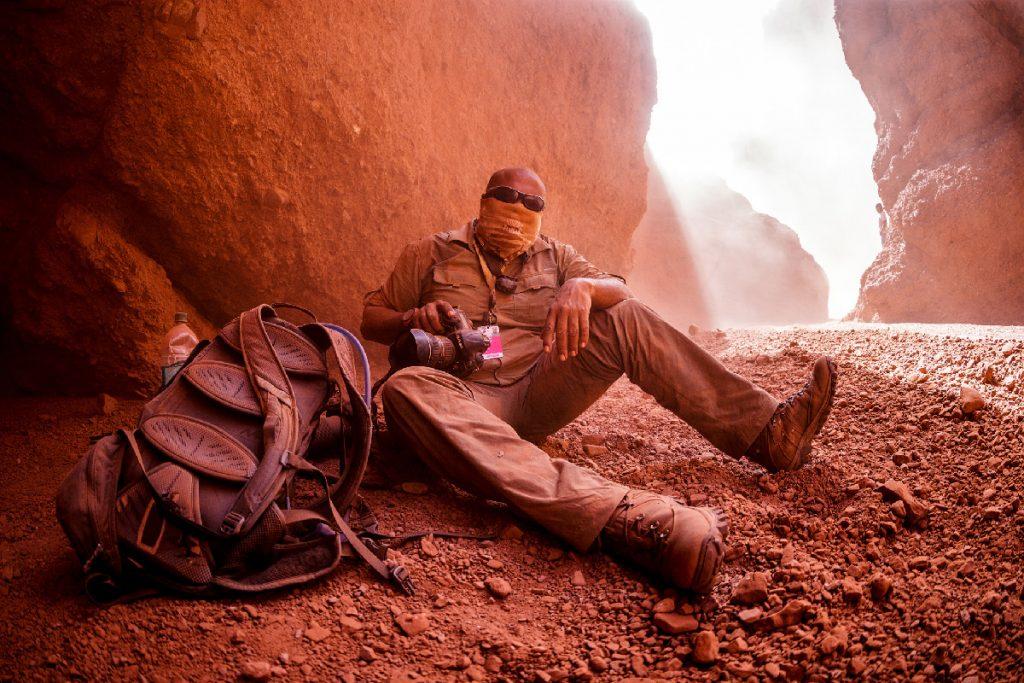 Brzy bylo v kaňonu červené úplně všechno :-)