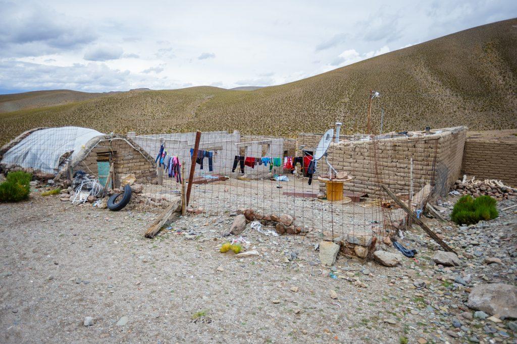Bydlení na argentinské vesnici