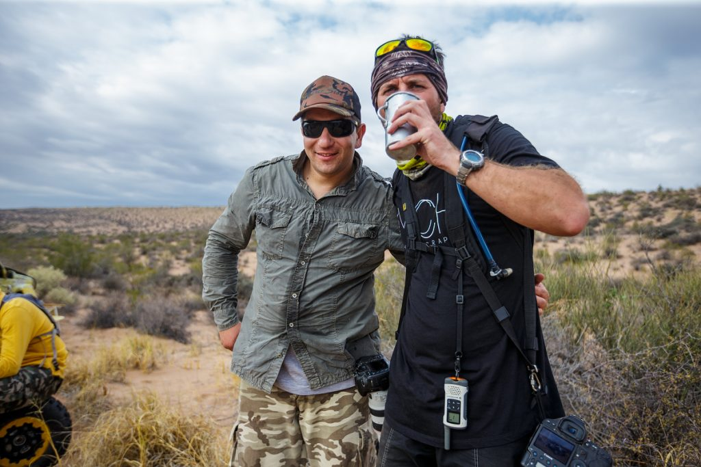 Viktor s argentinským Vinem Dieselem