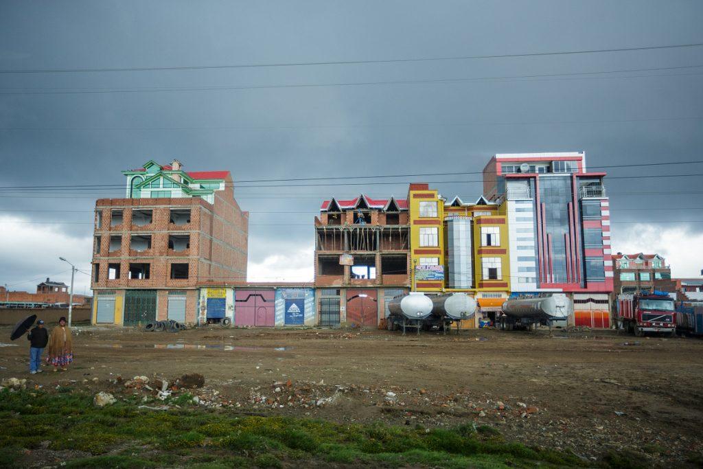 Typická bolivijská architektura mě nepřestane fascinovat :)
